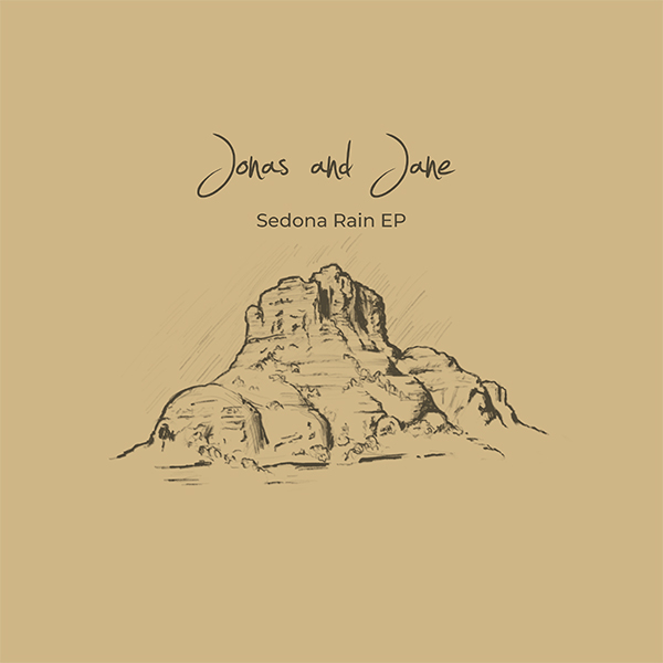 Sedona Rain EP 2018 Artwork | Jonas and Jane